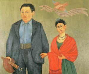 Frida ve Diego.
