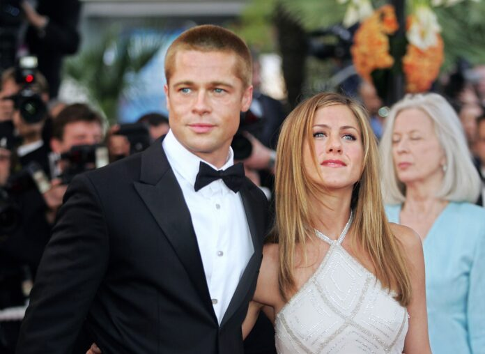 Jennifer Anniston ve Brad Pitt